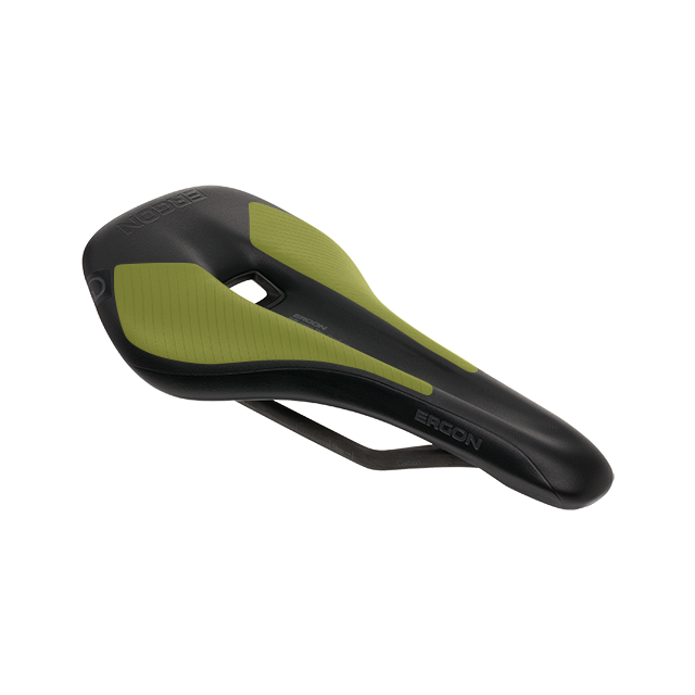 Ergon SR Men saddle with special Orthocell inlays.