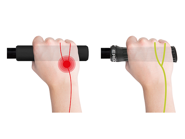 GE1 Evo relieves ulnar nerve and prevents pain.