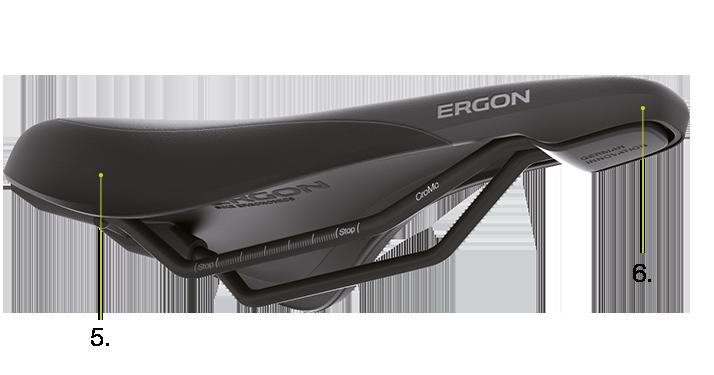 black small Ergon SFC3 saddle